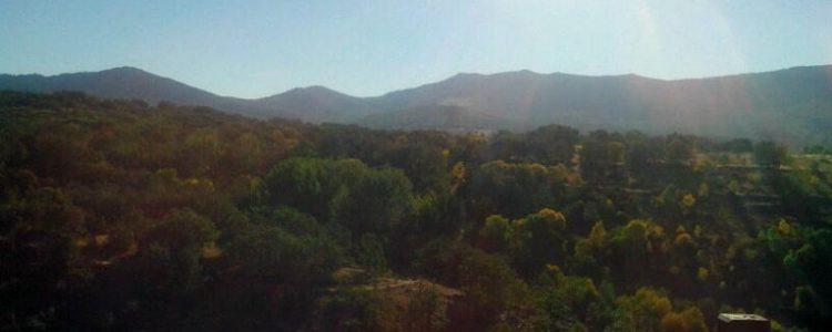 Otoño en la Sierra Norte de Madrid<span class=