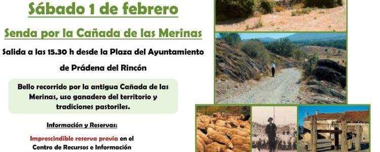Senda de la Cañada de las Merinas<span class=