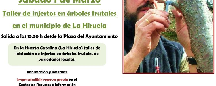 Taller de injertos en Huerta Catalina<span class=