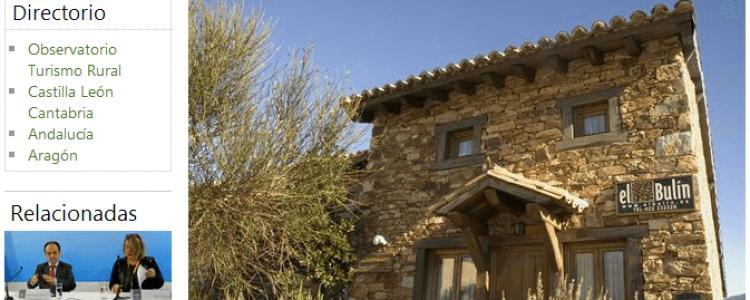 Porque el 44% de los españoles que practica turismo rural busca disfrutar de la convivencia<span class=
