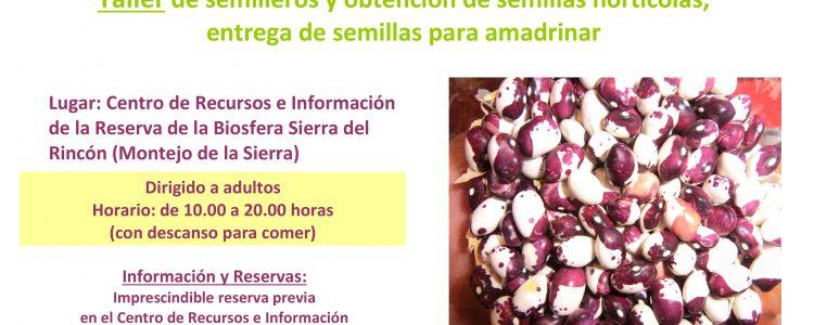 Revitalización del Banco de Semillas Participativo de la Reserva de Rincón<span class=