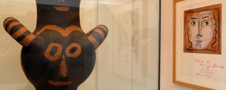 Exposición `Donación Peter L. Farer´ en el Museo Picasso de Buitrago del Lozoya<span class=