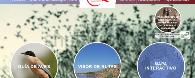 Una nueva página web pone al alcance de todos la riqueza ornitológica de Madrid<span class=