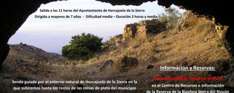 Senda de las Minas de Plata de Horcajuelo de la Sierra<span class=