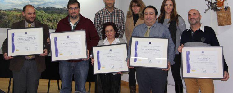 El SICTED (Programa de Calidad) hace entrega de distintivos en la Sierra Norte De Madrid