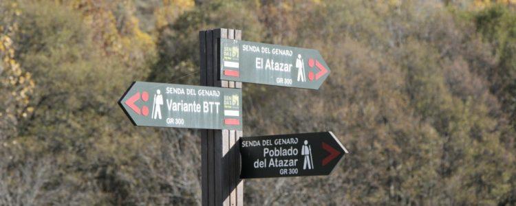 GENARO, LA PRIMERA GRAN SENDA (GR-300) ESTA EN LA SIERRA NORTE DE MADRID