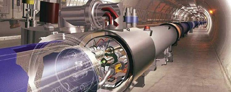 El acelerador de partículas se puso en marcha otra vez.<span class=