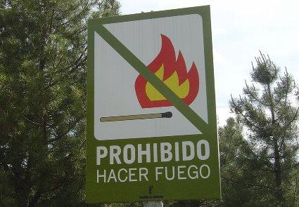 evitar incendios
