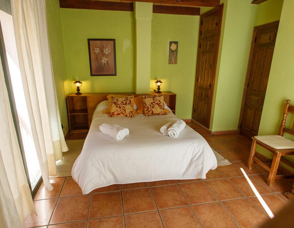 Dormitorio de casa rural en Braojos Madrid